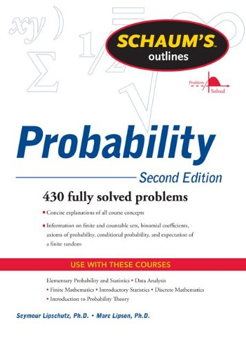 Probability  2nd 2011 (Revised) edition cover