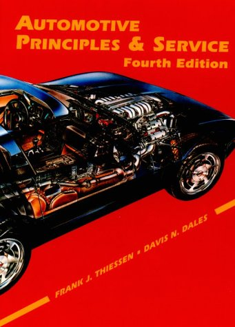 Automotive Principles and Service 4th 1994 edition cover