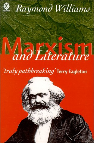 Marxism and Literature   1996 edition cover