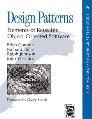 Design Patterns Elements of Reusable Object-Oriented Software  1995 (Annual) 9780201633610 Front Cover