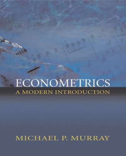 Econometrics A Modern Introduction  2006 9780321113610 Front Cover