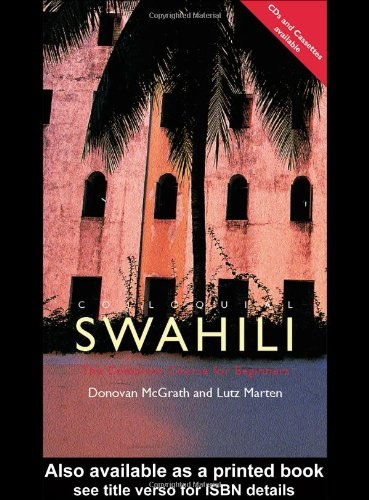 Colloquial Swahili The Complete Course for Beginners  2002 9780415221610 Front Cover