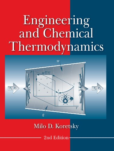 Engineering and Chemical Thermodynamics  2nd 2013 9780470259610 Front Cover
