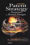 Patent Strategy for Researchers and Research Managers  2nd 2001 (Revised) 9780471492610 Front Cover