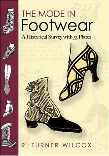 Mode in Footwear A Historical Survey with 53 Plates  2008 edition cover