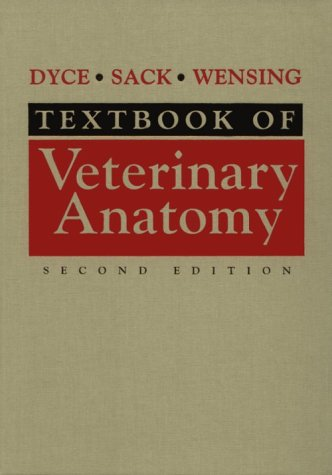 Textbook of Veterinary Anatomy  2nd 1996 edition cover
