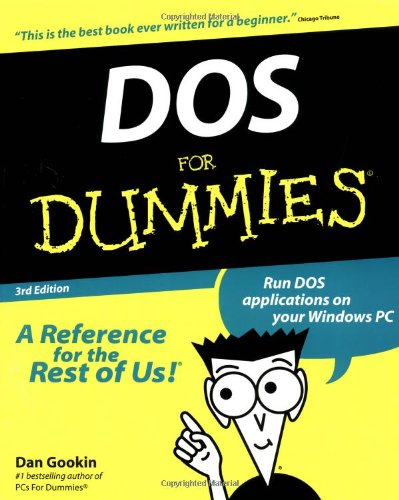 DOS for Dummies  3rd 1999 (Revised) edition cover