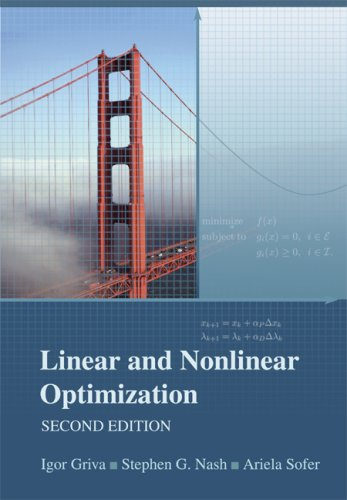 Linear and Nonlinear Optimization  2nd 2008 edition cover