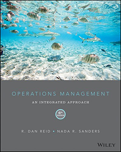 Operations Management:   2015 9781118952610 Front Cover