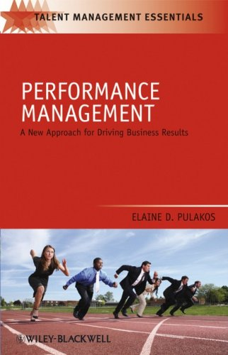 Performance Management A New Approach for Driving Business Results 2nd 2009 edition cover