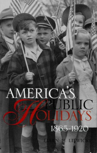 America's Public Holidays, 1865-1920  N/A edition cover