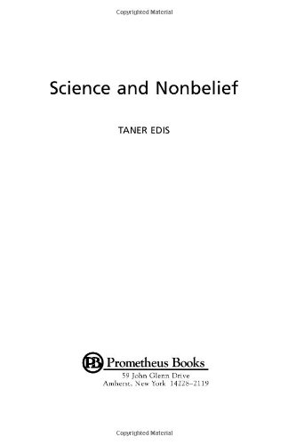 Science and Nonbelief  N/A edition cover