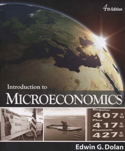 Introduction to Microeconomics  4th 2010 edition cover
