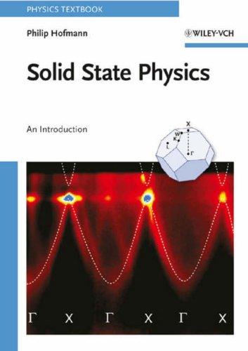 Solid State Physics An Introduction  2008 edition cover