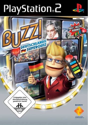 BUZZ! Deutschlands Superquiz PlayStation2 artwork
