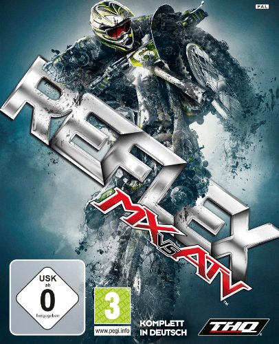 MX vs. ATV Reflex Xbox 360 artwork