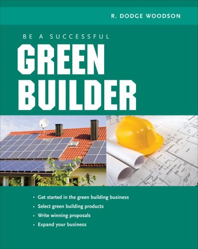 Be a Successful Green Builder   2009 edition cover