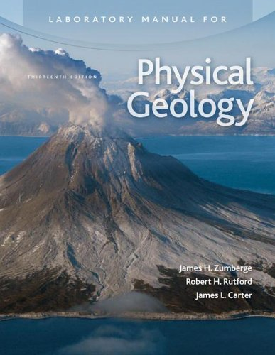Laboratory Manual for Physical Geology  13th 2007 edition cover
