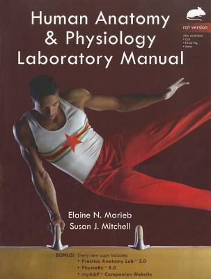 Human Anatomy and Physiology Laboratory Manual, Rat Version   2012 edition cover