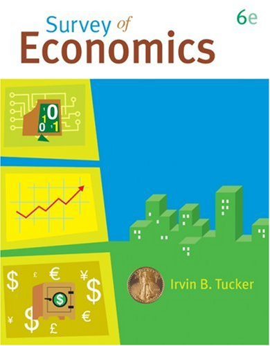 Survey of Economics  6th 2009 edition cover