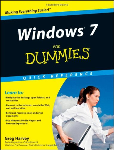 Windows 7 for Dummies�   2009 edition cover