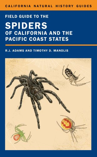 Field Guide to the Spiders of California and the Pacific Coast States   2014 edition cover