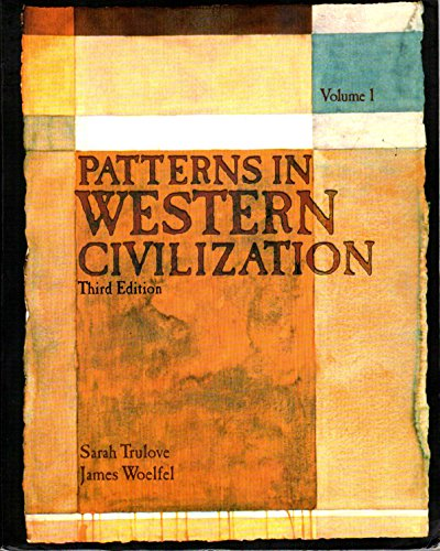 PATTERNS IN WEST.CIVIL.,VOL.1 N/A edition cover