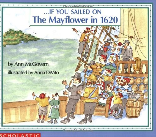 If You Sailed on the Mayflower in 1620  N/A 9780590451611 Front Cover