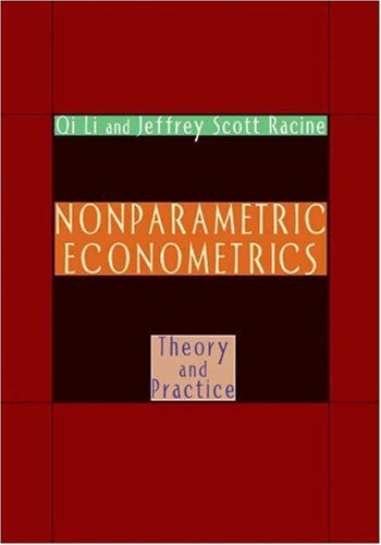 Nonparametric Econometrics Theory and Practice  2007 edition cover