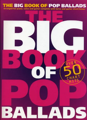 The Big Book of Pop Ballads N/A edition cover