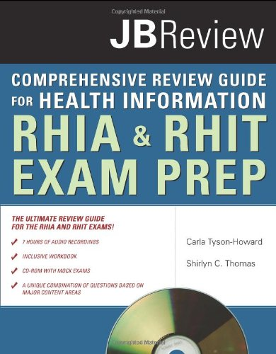 Comprehensive Review Guide for Health Information RHIA and RHIT Exam Prep  2009 edition cover