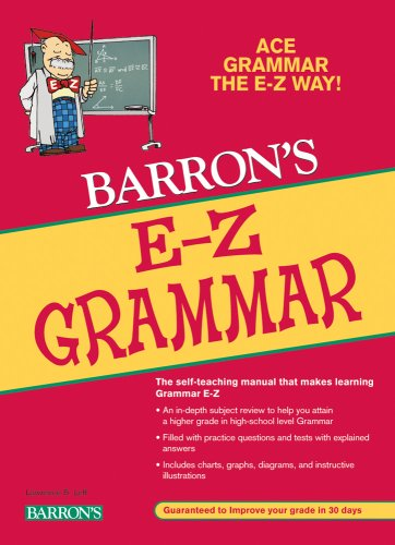 Barron's E-Z Grammar  2nd 2009 edition cover
