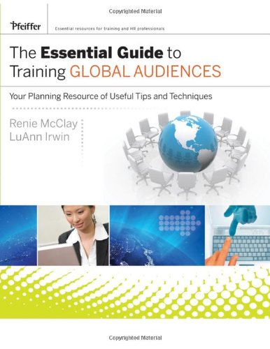 Essential Guide to Training Global Audiences Your Planning Resource of Useful Tips and Techniques  2008 edition cover