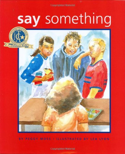 Say Something   2004 edition cover