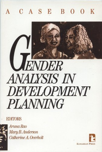 Gender Analysis in Development Planning A Case Book  1991 9780931816611 Front Cover