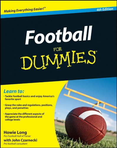 Football for Dummies�  4th 2011 edition cover