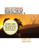 Understanding Management  9th 2015 edition cover