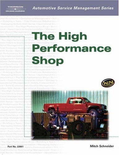 High Performance Shop   2004 9781401826611 Front Cover