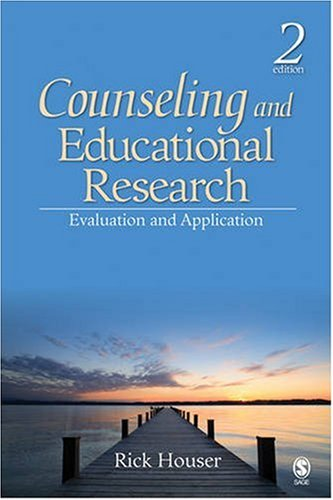 Counseling and Educational Research Evaluation and Application 2nd 2009 edition cover