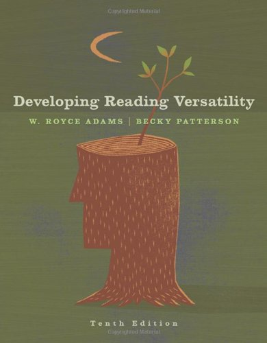 Developing Reading Versatility  10th 2008 (Revised) edition cover