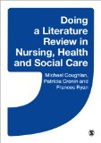 Doing a Literature Review in Nursing, Health and Social Care   2013 edition cover