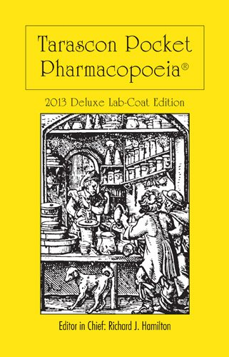 Tarascon Pocket Pharmacopoeia  14th 2013 9781449673611 Front Cover