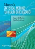 Munro's Statistical Methods for Health Care Research  6th 2012 (Revised) edition cover