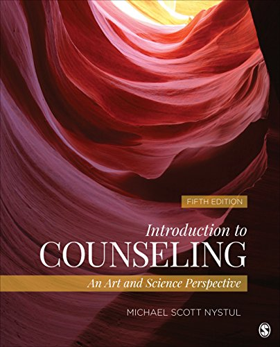 Introduction to Counseling An Art and Science Perspective 5th 2016 edition cover