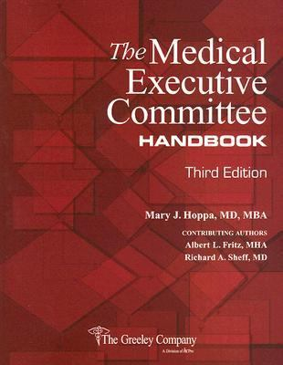 Medical Executive Committee Handbook 3rd 2007 edition cover