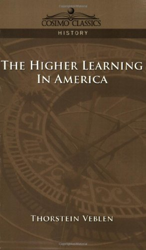 Higher Learning in America  N/A 9781596052611 Front Cover