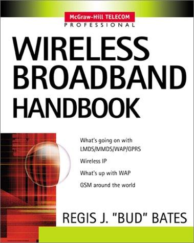 Wireless Broadband Handbook   2001 9780071371612 Front Cover