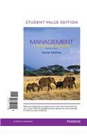 Management A Focus on Leaders, Student Value Edition 2nd 2014 edition cover