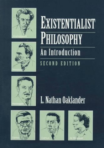 Existentialist Philosophy An Introduction 2nd 1996 (Revised) edition cover