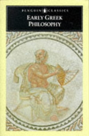 Early Greek Philosophy   1987 edition cover